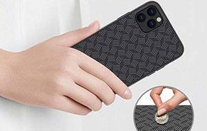 قاب فیبر آیفون Synthetic Fiber Plaid Case iPhone 11