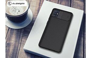 قاب محافظ نیلکین سامسونگ Nillkin CamShield Case Samsung A51