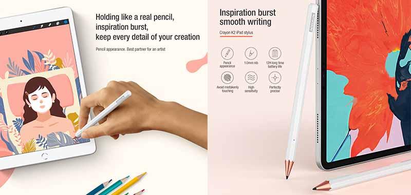 قلم لمسی ipad - nillkin
