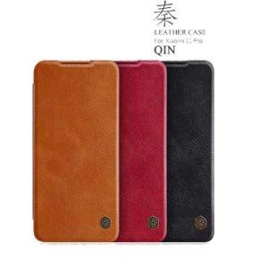 کیف چرم شیائومی Nillkin Qin Xiaomi Mi11 Pro