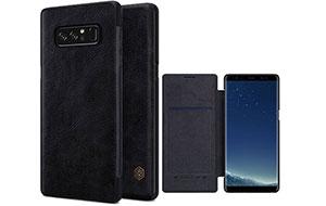 کیف چرم محافظ سامسونگ Nillkin Qin Samsung Note 8