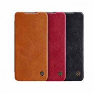 کیف چرم نیلکین سامسونگ Nillkin Qin For Samsung A72