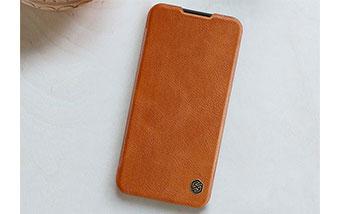 کیف چرم نیلکین محافظ سامسونگ Nillkin Qin case Samsung Galaxy A01