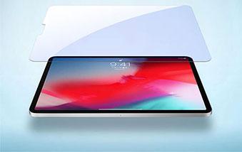 گلس ضد اشعه آبی نیلکین V+anti blue light glass Apple ipad pro 11 2018