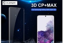 گلس نیلکین تمام صفحه سامسونگ Nillkin Cp+Max For Samsung S20 Plus